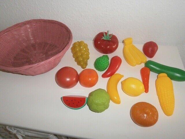 Køkken, Legefrugt i kurv, (415)