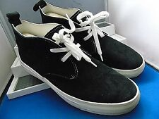 BUDDY -MAKE HAPPY -JAPAN SMART DESIGNER BLACK SUEDE CHUKKA BOOTS UK 10