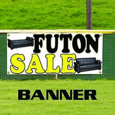 Futon Sale Mattress Duvet Furniture Home Advertising Vinyl Banner Sign