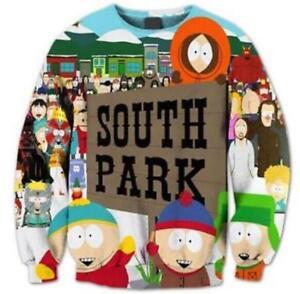 55b20dddc New Fashion Women/Men South Park Funny 3D Print Hoodies Sweatshirt ...