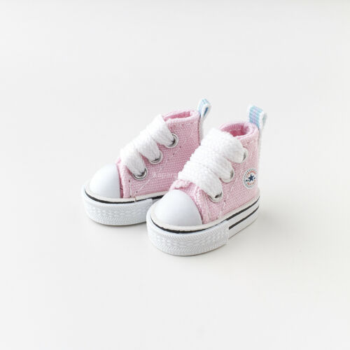 Neo Blythe Pullip Doll Canvas Sneakers Micro Shoes Light Pink