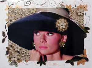 MARIA-MURGIA-034-Audrey-Hepburn-034-Fotografia-dipinta-cm-60x80
