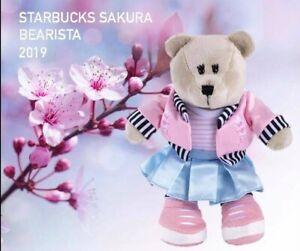 2019 Starbucks Sakura-Cherry Blossom Bearista Bear rose Outfit-pas de carte-afficher le titre d`origine jTgQkllp-09092105-894749501