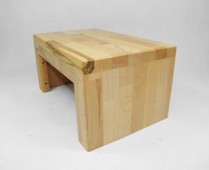 Panchina in legno panca faggio handmade yoga panca legno sgabello