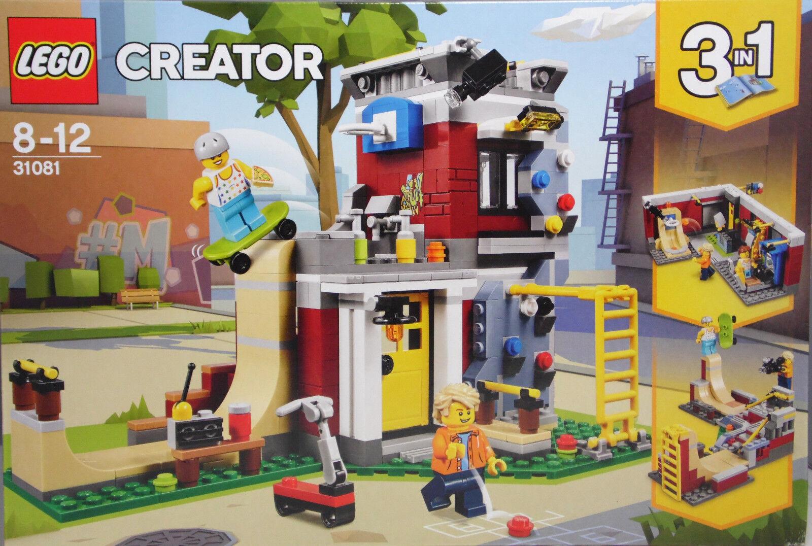 LEGO LEGO LEGO 31081 Umbaubares Freizeitzentrum 3in1 Spielothek-Cafe Skateboardanlage NEU 61e120
