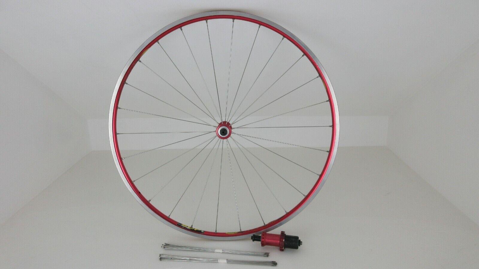 MAVIC HELIUM Road Bike FRONT Clincher Wheel with Helium Rear Hub and spokes