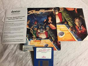 RARE-NEVER-USED-Original-Shufflepuck-Cafe-1988-Mac-Classic-Boxed-NEW-Condition