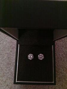 Ernest Jones Stud Earrings Ebay