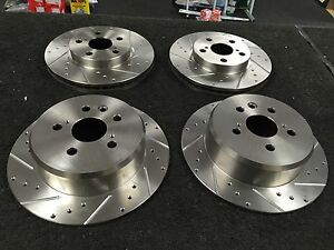 FRONT /& REAR BRAKE DISCS AND PADS SET NEW FOR TOYOTA MR2 GT TURBO 1992-2000