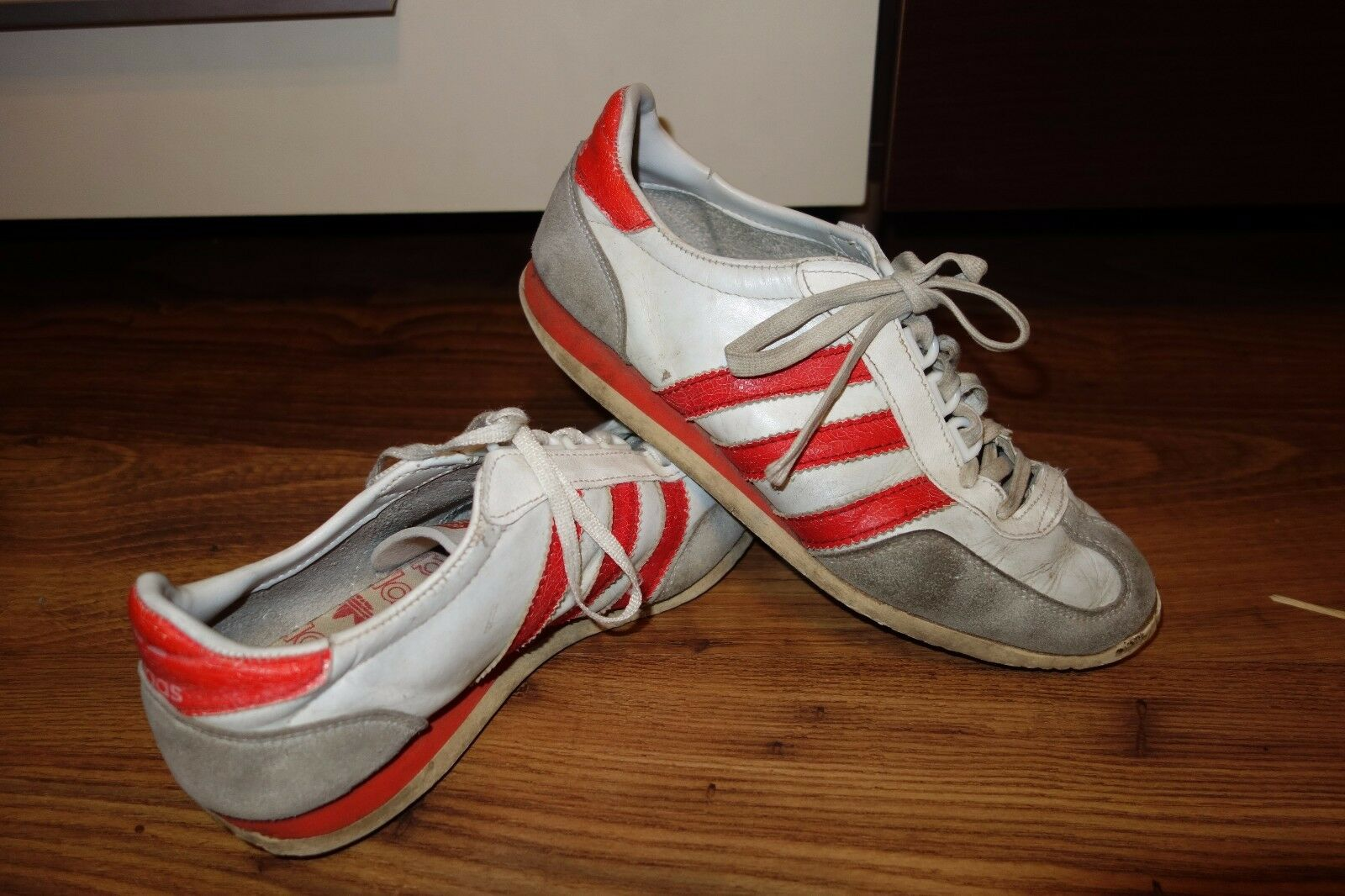 VINTAGE VERY RARE '70 ADIDAS TAMPICO  MADE IN FRANCE,FAIR CONDIT.