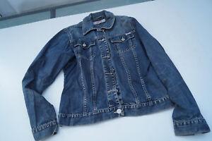 s-Oliver-Damen-Maedchen-Jeans-Jacke-Jeansjacke-Gr-M-stonewashed-blau-TOP