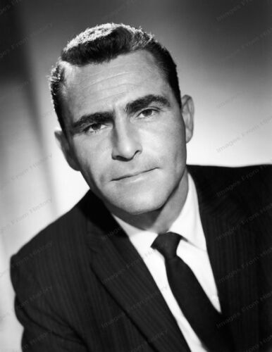 8x10 Print Rod Serling The Twilight Zone 1959 #RS389