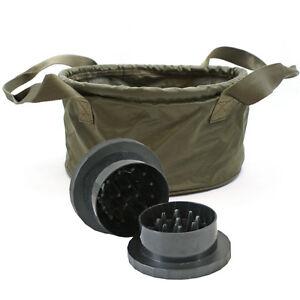 NGT Carp Coarse Fishing Set Boilies Glugs Bowl Catapult Grinder Complete Set