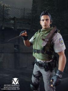 MOMTOYS-1-6-Resident-Evil-Chris-Redfield-Action-Figure-12in-Model-Toy