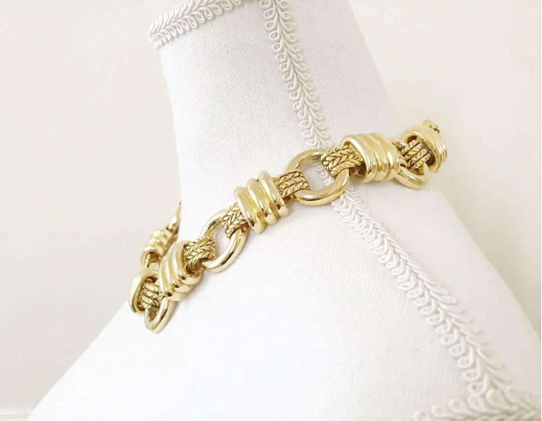 CHANEL Necklace Claire Deve Vintage Used From Jap… - image 5