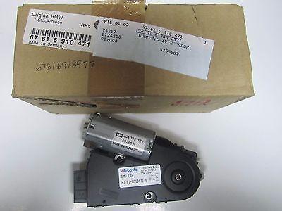 94-06 BMW 3-7-Series Sliding Roof Drive Unit w/ Module Genuine OEM 67616910471