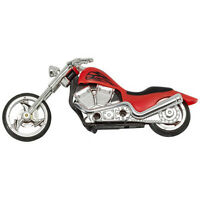 Motorcycle Red Hot Chopper Hog Cake Decoration Kit Party Favors
