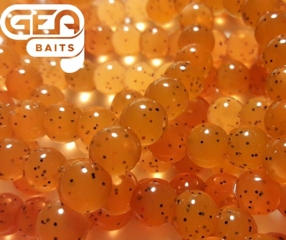Salmon Eggs  Soft Lures 8mm Carp Fishing TROUT Fly Fishing Bait Yelly