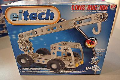 Franco (prl) Eitech Gru Crane Montaggio Modello Model Kit Costruzioni Attrezzi Bimbo 8+