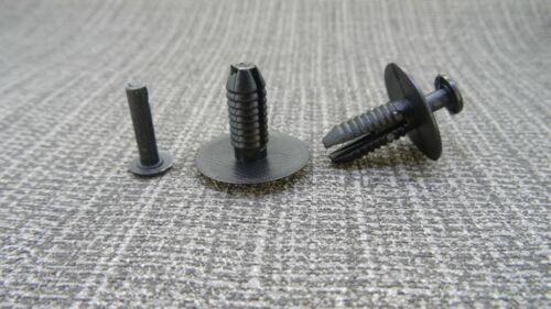 VOITURE CITROEN pare-chocs passage de roue /& Splash Guard Fastener Rivet//clips de fixation