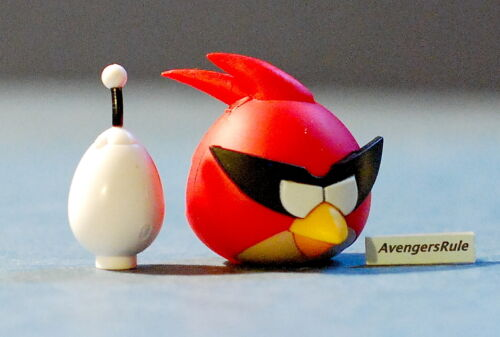 K/'NEX Angry Birds Mystery Series 2 Red Bird Space and White Egg Space