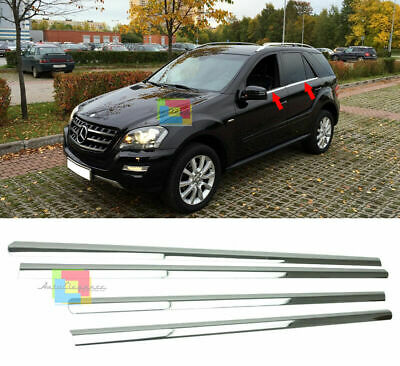 Mercedes Vito W447 V 220  Modanature cornici sotto finestrini acciaio cromo Long