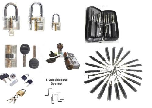 Lock picking set Cerraduras de práctica ordenadores premium 9 set de Goso
