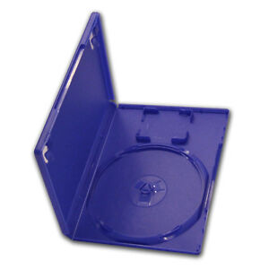 X2 Blue 14mm Replacement Ps2 Game Media Disc Cases Video Games & Consoles No Card Holder