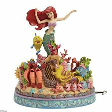 Disney Traditions Under The Sea The Little Mermaid Musical 20.5cm 4039073 RRP£96