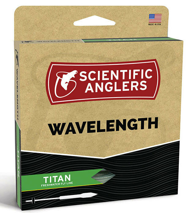 SA  Wavelength Titan WF-11 Floating Fly Line -  Green Pale Yellow - Free US Ship  quality assurance