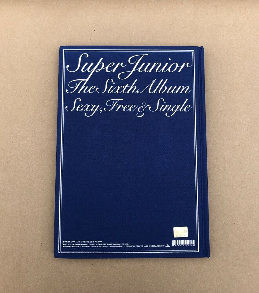 SJ: Vol. 6 - Sexy, Free & Single (Type A), pop