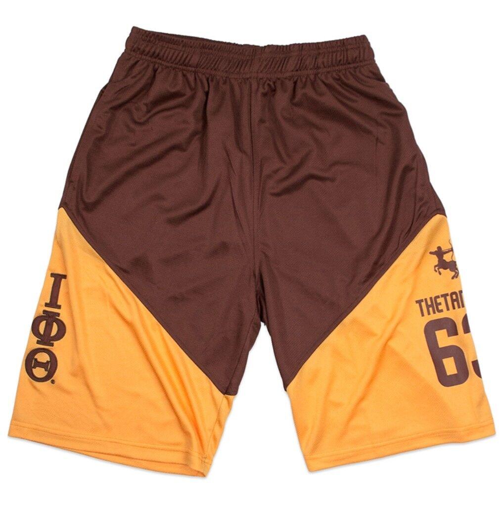 e16500c4b IPT Fraternity Men s 2018 Brown Basketball Shorts nubpev1941-Shorts ...