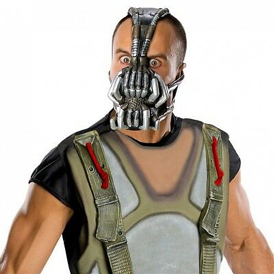 Bane Mask Adult Gas Mask Scary Halloween Costume Fancy Dress