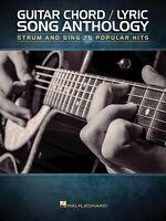 Guitar Chord Lyric Song Anthology Sheet Music Strum And Sing 000152243