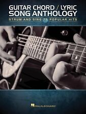 Guitar Chord Lyric Song Anthology Sheet Music Strum and Sing NEW 000152243