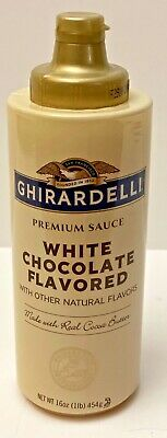 1 Ghirardelli White Chocolate Flavored Premium Sauce ...