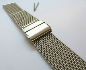 ULTIMATE-QUALITY-STEEL-SHARK-MESH-BRACELET-BAND-STRAP-DIVE-DIVING-WATCH-WATCHES