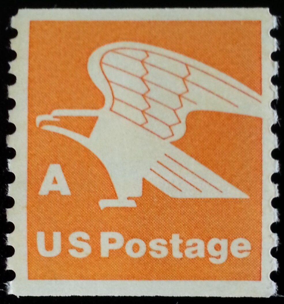 "1978 15c ""A"" & Eagle, Coil Scott 1743 Mint F/VF NH"