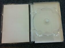 RARE! 50 SUPER JEWEL BOX KING DVD CD CASE CLEAR SF11