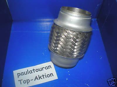 Flexrohr Auspuffrohr flex Rohr flexibel 42 x 150 mm