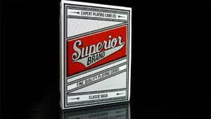 Superior Brand | Classic Back | Readers | Poker Deck | Collectable