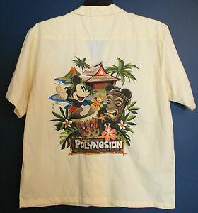 36d76486 Image is loading New-DISNEY-WORLD-MICKEY-POLYNESIAN-Resort-Hawaiian-Shirt-