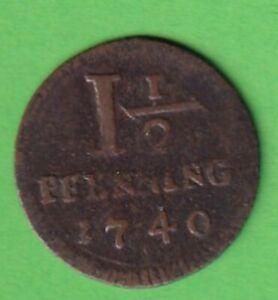 Muenster-Sadt-Cu-1-Pfennig-1740-Weing-227-stampsdealer