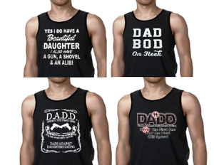 Men/'s Clothing Ringer Tank Top DADD Dads Agaisnt Daughters Dating Dad Bod Fleek