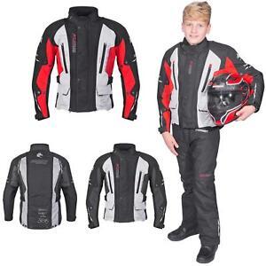 Germot bambini giacca moto RUNNER Junior Bike dimensioni regolabili vento di tenuta  </span>