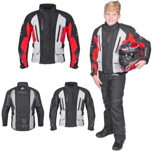 Germot bambini giacca moto RUNNER Junior Bike dimensioni regolabili vento di tenuta