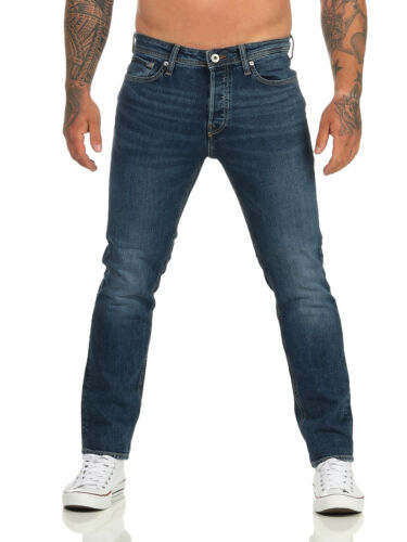 JACK /& JONES Herren Jeans Slim Hose Blau Tim Original 726