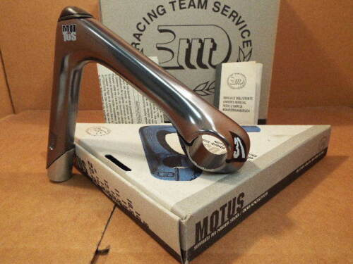 New-Old-Stock 3T Motus Quill Stem w//Gray Finish 25.8 // 26.0 mm clamp x 140 mm