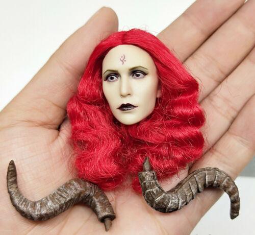 "1//6 Female Demon Wings Of Fallen Lucifer Head Sculpt F12/"" PH Action Figure"