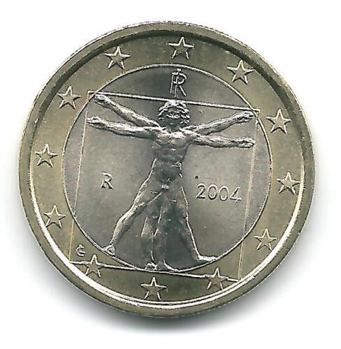 Italy   1 Euro 2004  rare bimetallic